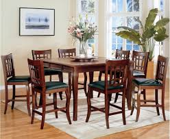 Dining Room Attractive Design For Dining Room Decoration With - Tall dining room table chairs