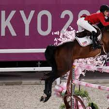 USA win silver in team jumping ...