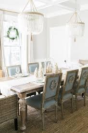 jacqueline hempel two ro sham beaux malibu chandeliers bright white dining room decor