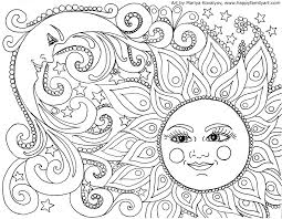 Stirring Mandala Coloring Pagesr Adults Printable Flower Owl