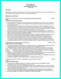 Mainframe Resume Mainframeesume For Years Experience Sample Us Testing Indeed Should 18
