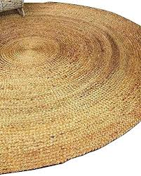8 x 10 jute rug now r 7 natural round hand braided by artisan maker 5 pottery barn rugs on soft