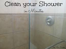 Shower Door clean shower door photographs : How To Clean Glass Shower Doors The Easy Way