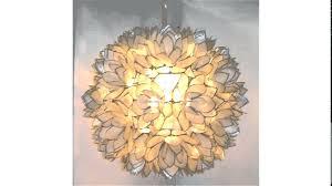 capiz lotus flower chandelier image collections wallpaper hd large chandeliers design