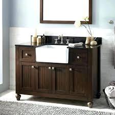 bathroom farm sink. Farm Sink Bathroom Vanity Farmhouse Cabinet Medium Size Of Sizes . A