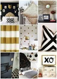 Black Gold Bedroom on Pinterest | Egyptian Home Decor, Gold Grey ...