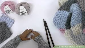 How to Knit a Patchwork Blanket (with Pictures) - wikiHow & Image titled Knit a Patchwork Blanket Step 1 Adamdwight.com