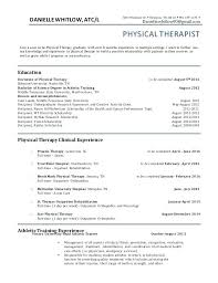 Physical Therapy Resume Simple Salary For Physical Therapy Aide Resume Pro