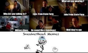 SneakerHead Memes via Relatably.com