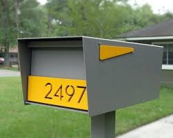 modern mailbox ideas. Modern Mailbox Best Mailboxes Images On Letters And  Pertaining To Mail Box Idea . Ideas D