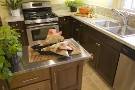 Kitchen Island Tops Ideas Stainless Steel Kitchen Islands Gallery Astonishing Countertops