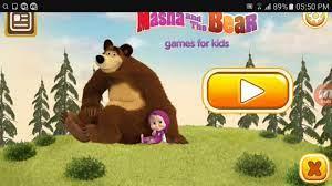 Trò chơi Gấu Và Em Bé Nga tinh nghịch ♡ Hoạt hinh Gấu và Em Bé ♡ Gấu Bear &  BÉ Masha - YouTube
