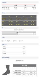 Giro Sock Size Chart Buurtsite Net
