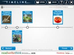 Free Online Timeline Generator Readwritethink Create A