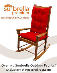 chair cushions cushions for outdoor rocking chairs red outdoor rocking chair cushions