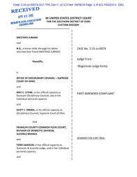 Odjfs Communicable Disease Chart Jurado V Stone First Amended Complaint By Ari Jurado Issuu
