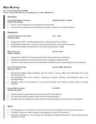 Barback Resume Sample No Experience Dwighthowardallstar Com