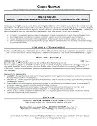 Corporate Attorney Resume Sample Topshoppingnetwork Com