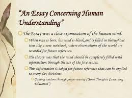 """locke john """" an essay concerning human understanding"""""""