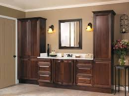 bathroom vanity and linen cabinet. Vanity With Linen Cabinet Bathroom Matching Home Design Ideas . Chic Tall And