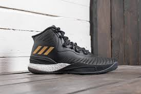 adidas d rose 8. adidas d rose 8 core black/ gold metalic/ ftw white at a great price