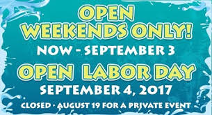 labor day theme geyser falls water theme park announces end of summer hours
