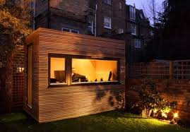 outdoor home office. outdoor home office