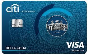 get citi rewards card easy secure in
