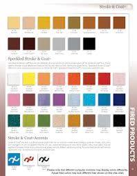 Stroke And Coat Glaze Chart Pin On Color Charts Glaze Lines We Carry Or Can Special Order