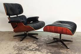 charles and ray eames furniture. Lounge Chair \u0026 Stool By Charles Ray Eames For Herman Miller, And Furniture