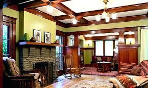 modern craftsman interior design style e94 craftsman