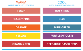Warm Cool Color Chart Redefining The Face Of Beauty How To Determine Your Skin