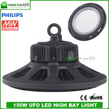 150w ufo led high bay light with meanwell led driver and philips leds
