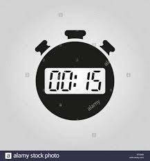 Timer 15 The 15 Seconds Minutes Stopwatch Icon Clock And Watch