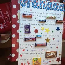 presents for grandad birthday presents for grandads birthdays grandad diy chocolate birthday card ideas