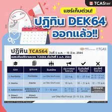 TCASter - 📌 #DEK64 แชร์เก็บไว้เลย!!!...