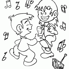Small Picture Free Dancing Coloring Pages New On Property Picture Coloring Page