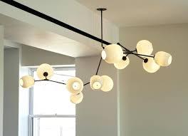 lindsey adelman chandelier globe branching bubble by studio adelmans diy lighting kit