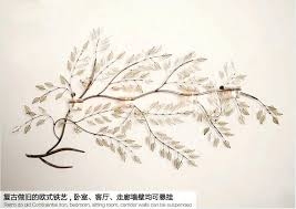 metal branch wall art lighted branches tree