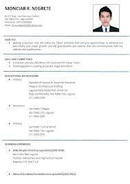 Design Templates Resume Format Docx Best Template Design
