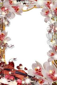 Collection of floral frames - Beautiful flowers