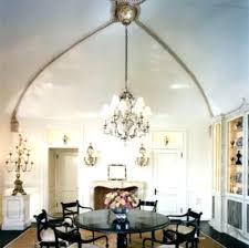high ceiling chandelier dining room lighting for ceilings contemporary chandeliers best dinin