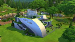 Small Picture The Sims 4 Futuristic House Building YouTube