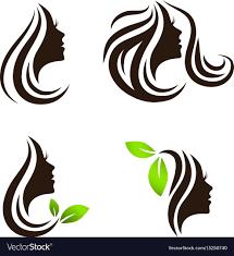 Spa Salon Logo Design Woman Beauty Hair Spa Salon Logo Design Set