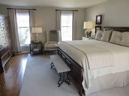 Transitional Master Bedroom Ideas Medium Terracotta Tile Wall For Impressive
