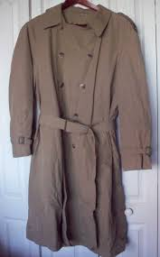 london towne london fog mens tan beige trench coat w removable liner 44 long