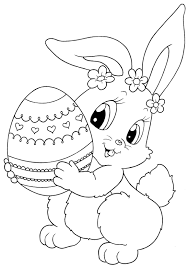 The easter bunny coloring pages printable show the easter bunny in a number of different avatars. Pin By Vita Gorbacheva On Pascoa Coelhos Bunny Coloring Pages Easter Bunny Colouring Easter Printables Free