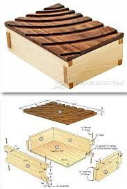 Diy Wooden Box Designs Wood Box Plans Citizenwelles