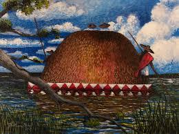 jonathan green loaded rice barge