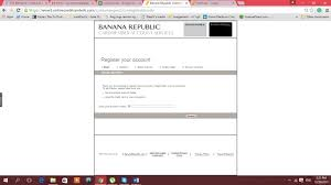 Simple Banana Republic Credit Card Signin Payment